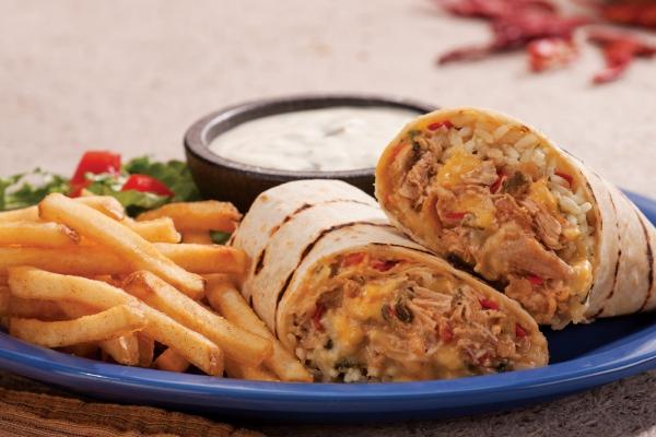 Baja Chicken Wrap