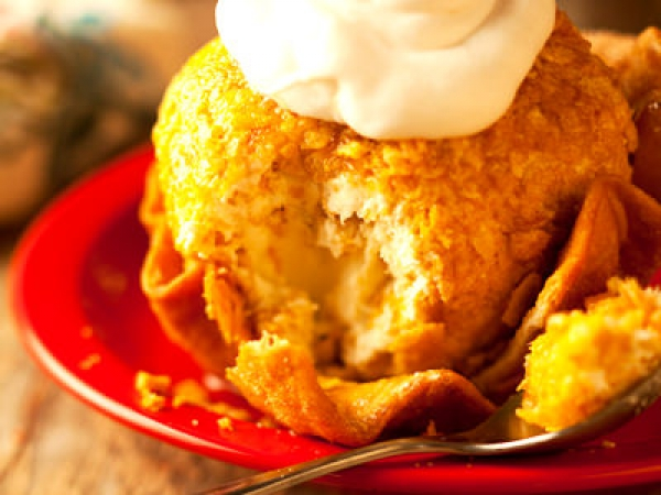 Mini Fried Ice Cream